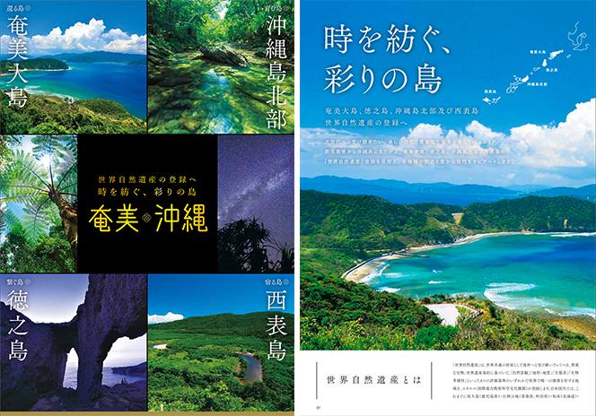 奄美・沖縄パンフレット