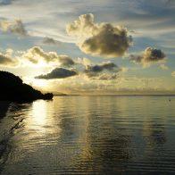 美しく穏やかな眺望が楽しめる小浜島・北部のビーチ/小浜島