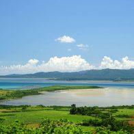 小浜島にある大岳(うふだき)展望台は撮影スポットとしても最適/小浜島
